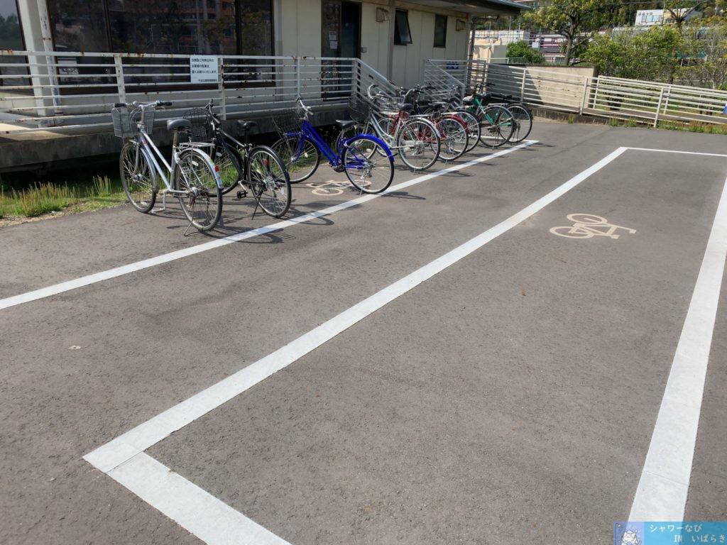 個室シャワー コインシャワー シャワー 茨城 水戸 千波公園テニスコート 駐輪場