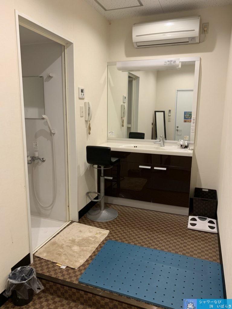 個室シャワー コインシャワー シャワー 茨城 竜ヶ崎  ネットカフェ サイベックス竜ヶ崎 シャワールーム