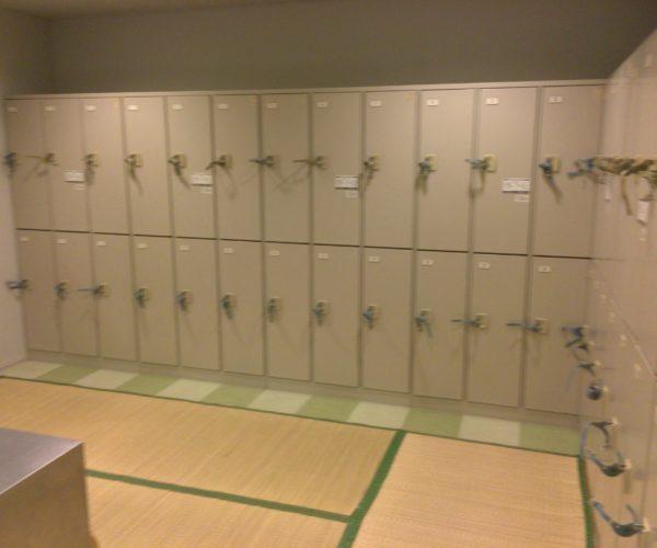 個室シャワー シャワールーム コインシャワー 茨城 つくば ふれあいプラザ ロッカールーム 更衣室