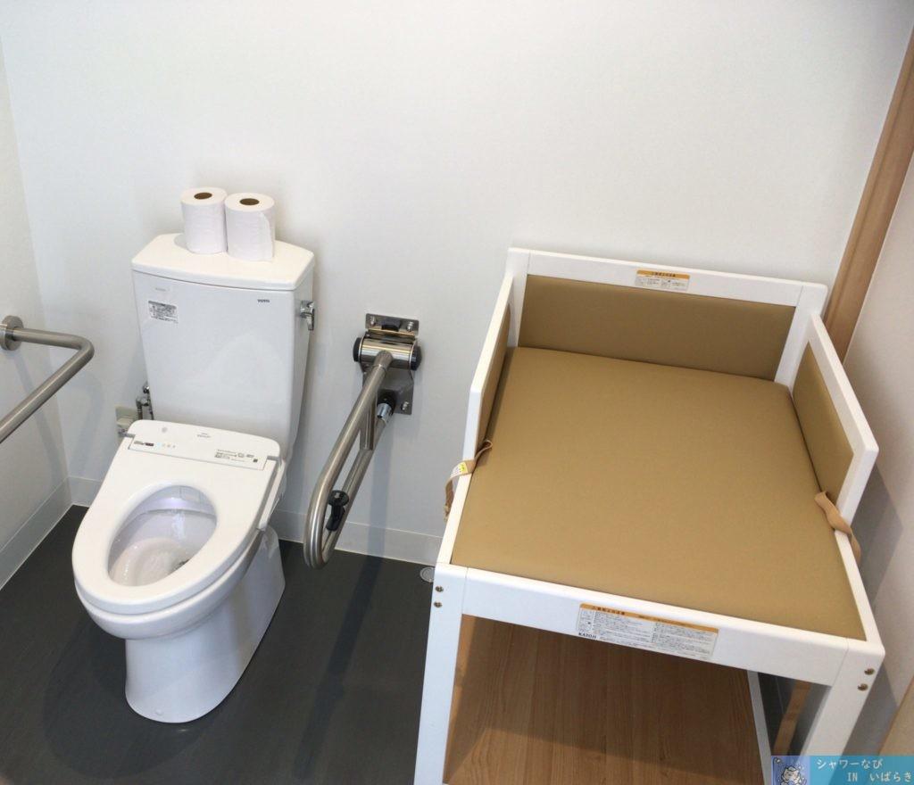 茨城 土浦 個室シャワー コインシャワー シャワールーム りんりんポート土浦 多目的トイレ