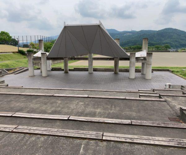 個室シャワー コインシャワー シャワー 茨城 桜川市 総合運動公園 屋外ステージ