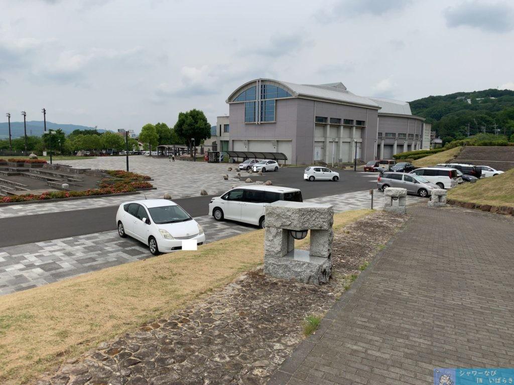 個室シャワー コインシャワー シャワー 茨城 桜川市 公園 桜川市総合運動公園 駐車場