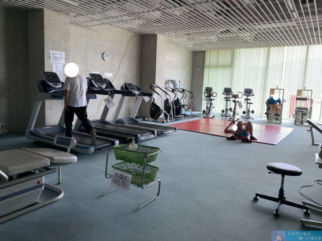 個室シャワー コインシャワー シャワー 茨城 桜川市 公園 桜川市総合運動公園 トレーニングルーム