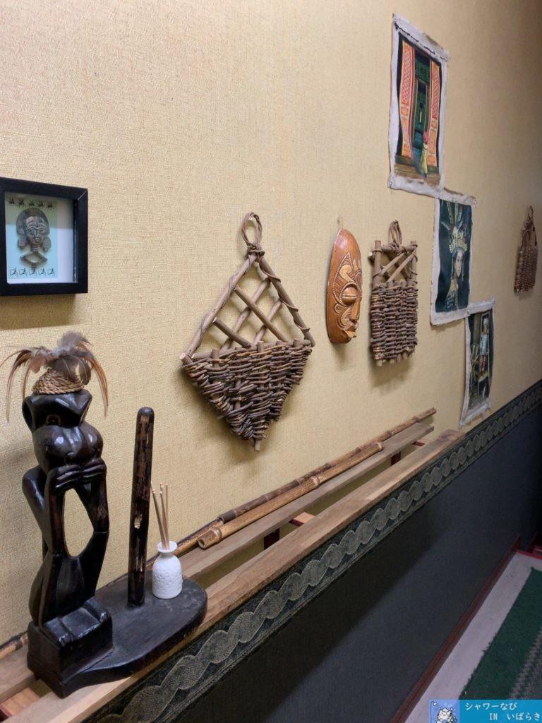 個室シャワー コインシャワー シャワー 茨城 水戸  ネットカフェ 秘密基地 装飾品